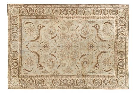 Antique Tabriz Rug, 6' x 9'