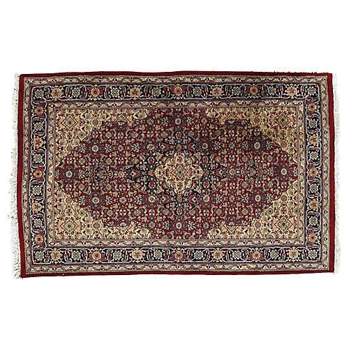 """Persian Rug, 4' x 6'2"""""""