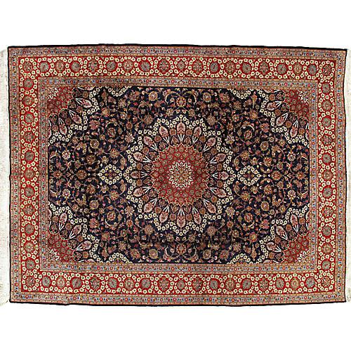 """Kashan Carpet, 9'7"""" x 12'6"""""""