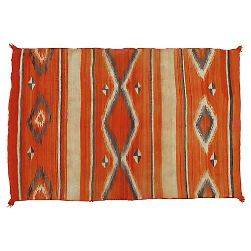 "Navajo-Style Rug, 3'6"" x 5'2"""