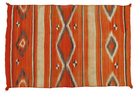 Navajo-Style Rug, 3'6