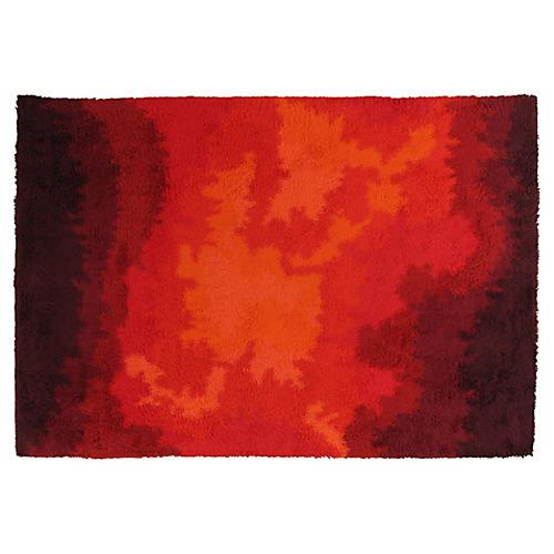 "Vintage Rya Carpet, 8""x11'6"""