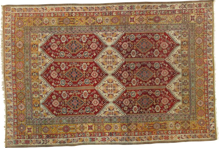"Antique Agra, 5'8"" x 9'"