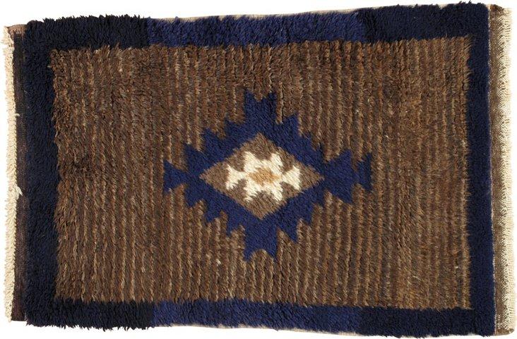"Moroccan Rug, 2'7"" x 4'"