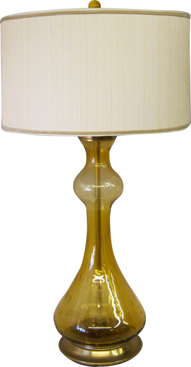 Gold Murano Lamp
