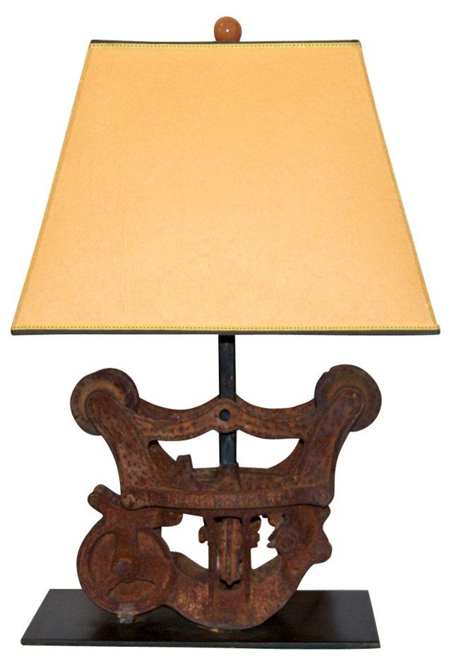 19th-C. Hay    Trolley Lamp