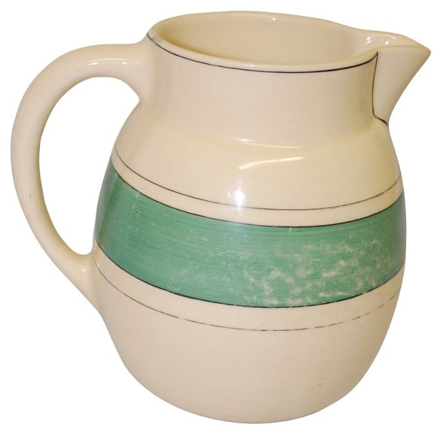 Roseville Utility Ware Pitcher