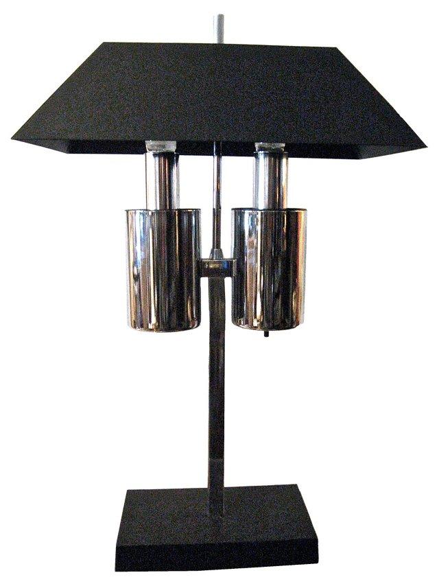 Modernist Bouillotte-Style  Lamp