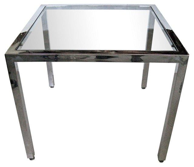 Milo Baughman-Style Game Table