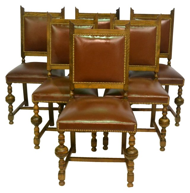 French Dining Chairs,   S/6
