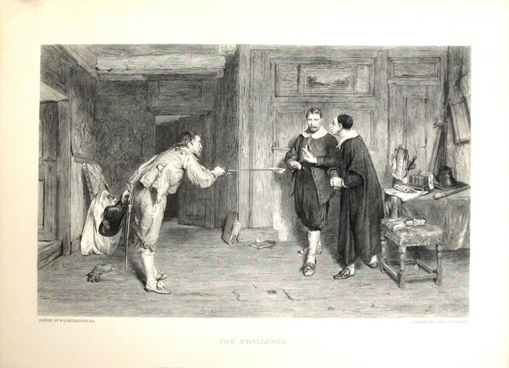 Duel Etching, 1888