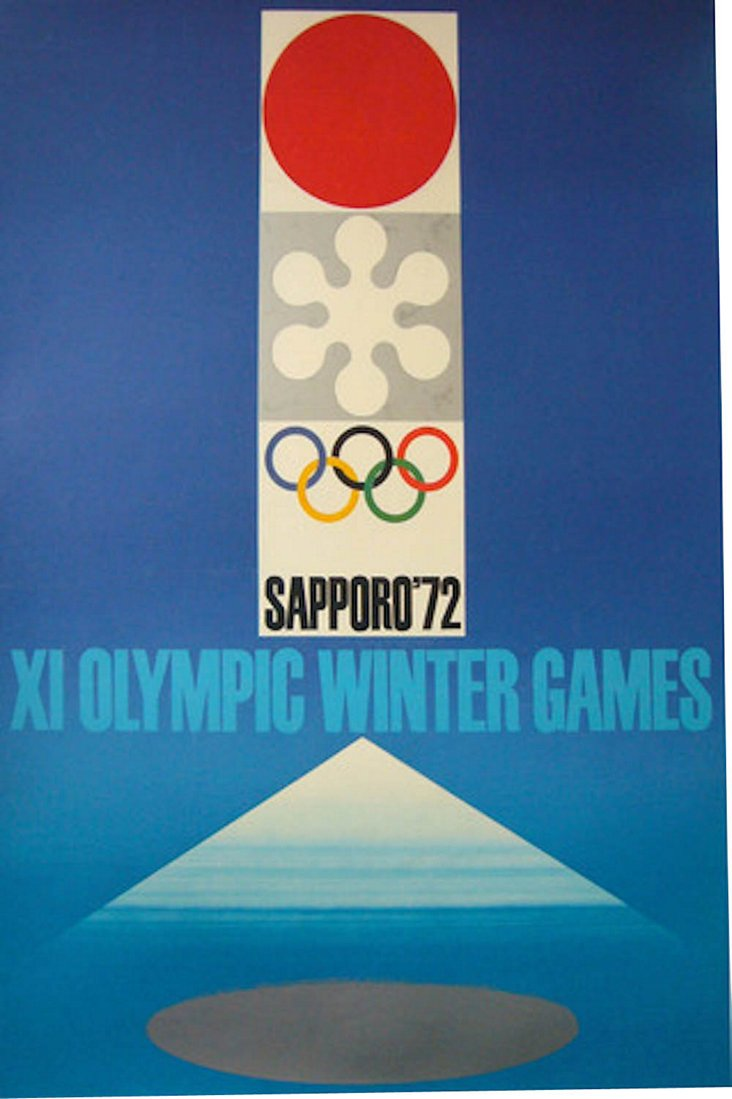 Sapporo Olympic Poster, 1972