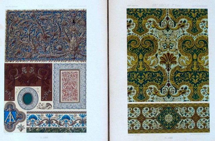 French Design Prints, C. 1900, Pair
