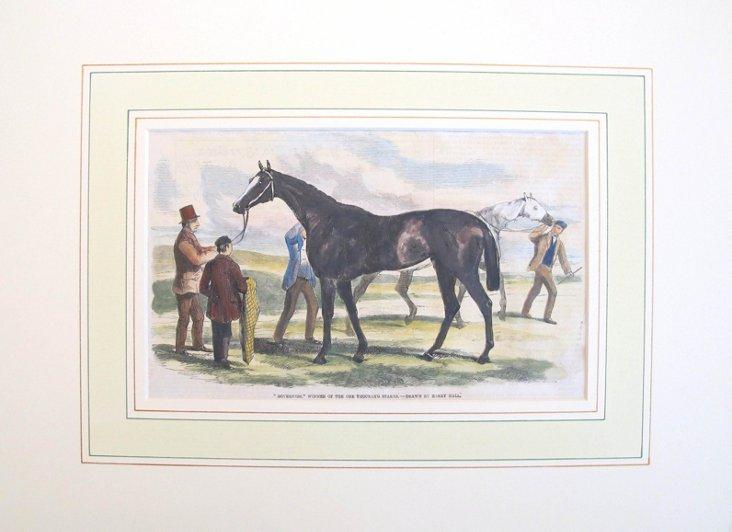 Horse & Rider Print