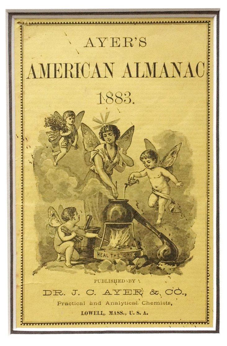 American Almanac Cover, 1883
