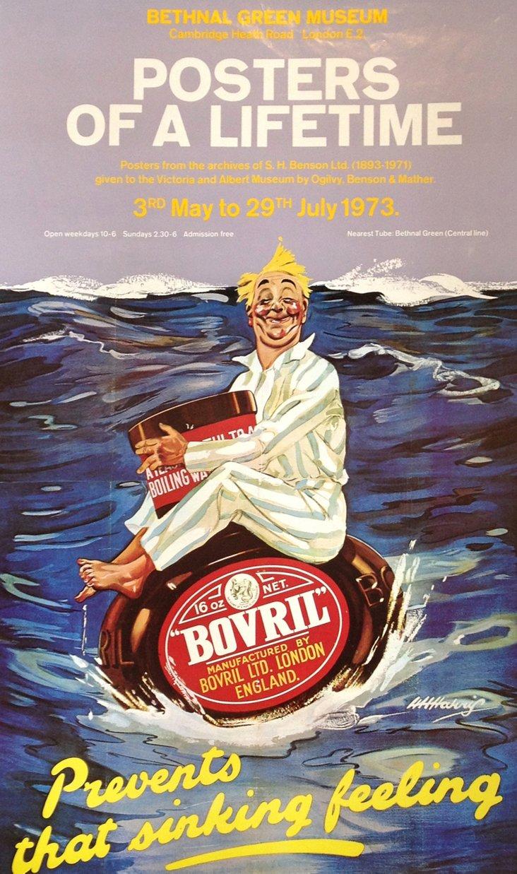 British Exhibition Poster, 1973