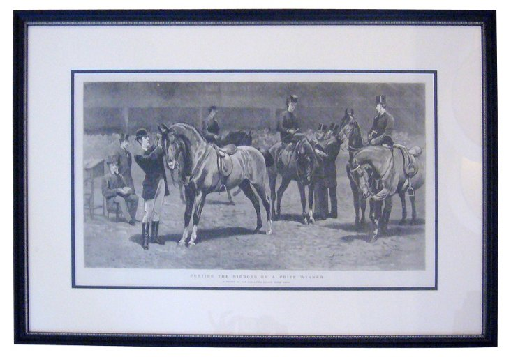 British Horse Racing, 1888