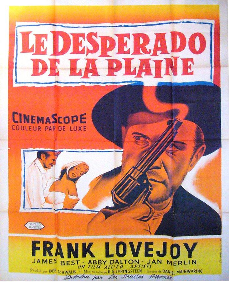 French Le Desperado Poster, C. 1950