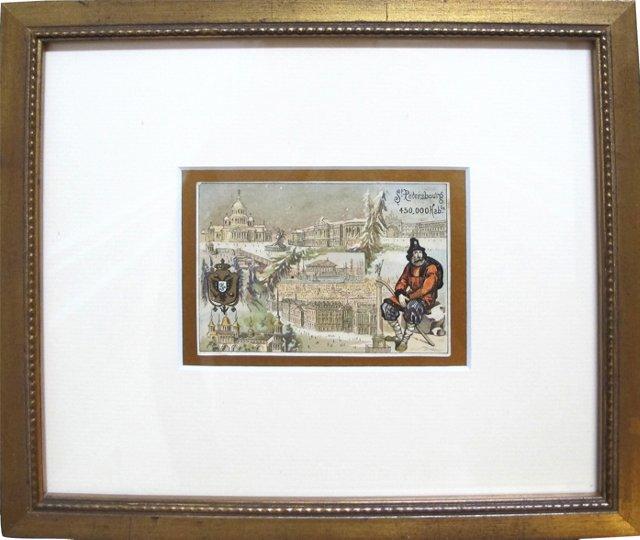 St. Petersburg Trade Card, C. 1900