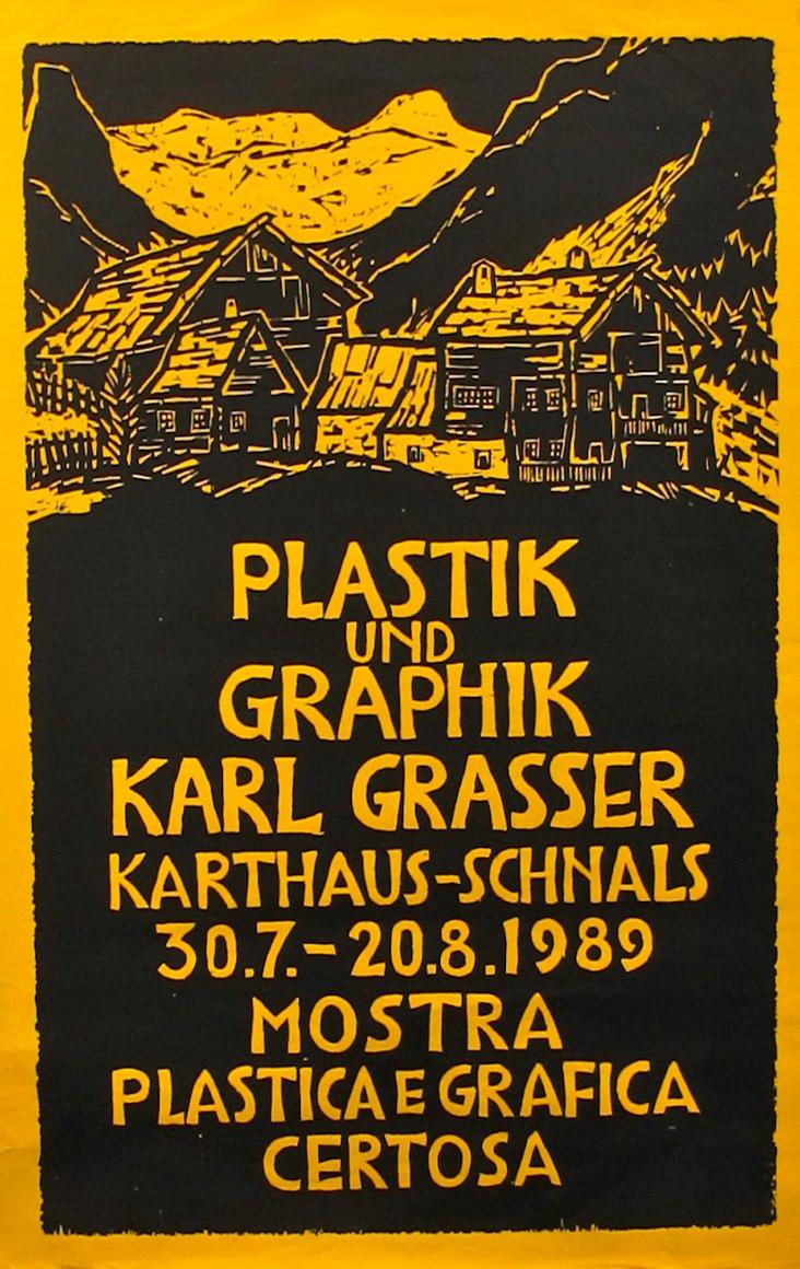 Italian Exhibition Poster, 1989