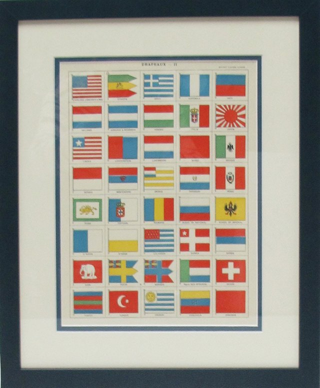 Flags of the World, C. 1900