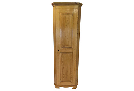 European Corner Cupboard
