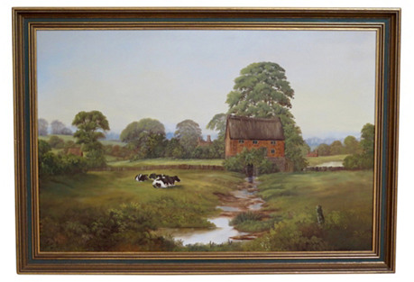 English Countryside View