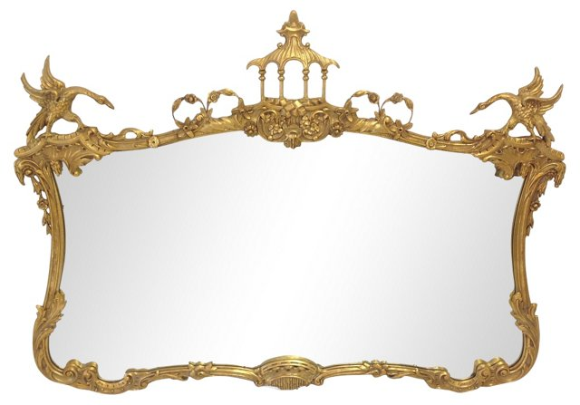 Mantel Mirror, Milch & Sons