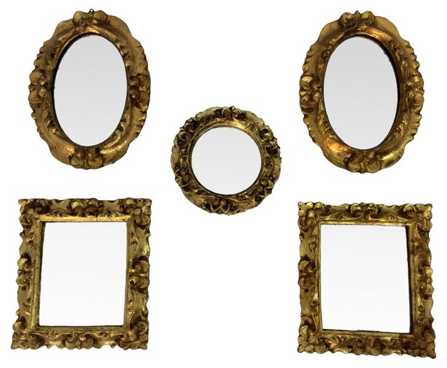 Italian Mirrors, S/5
