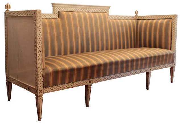 19th-C. Gustavian-Style Sofa