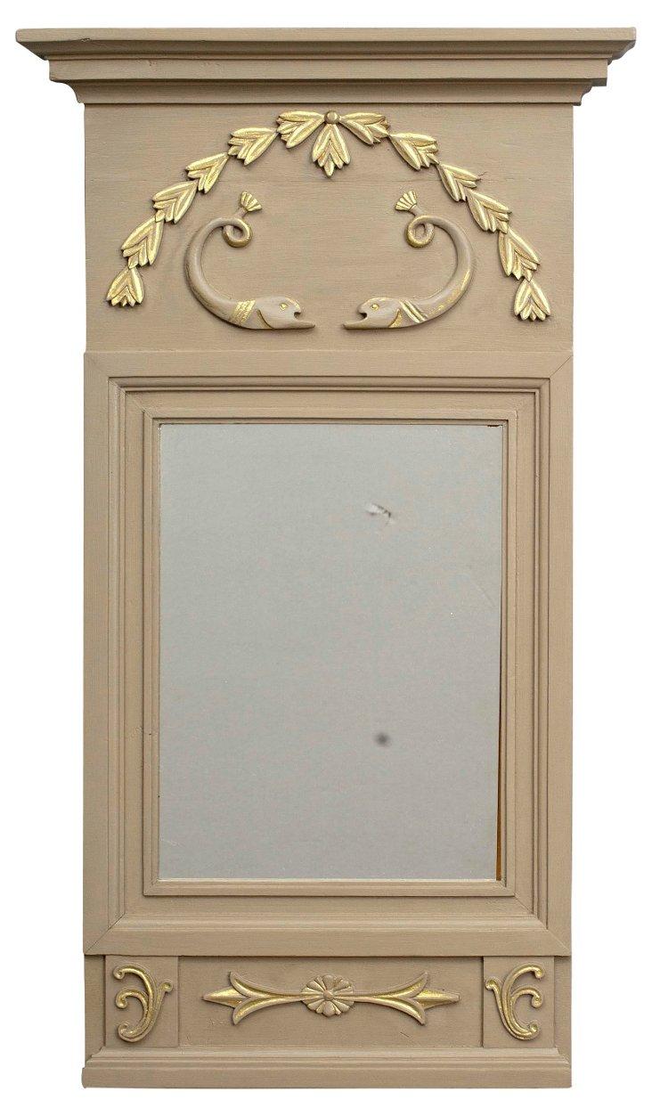 Swedish    Gustavian-Style Mirror