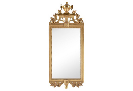 Early-20th-C. Gustavian-Style  Mirror