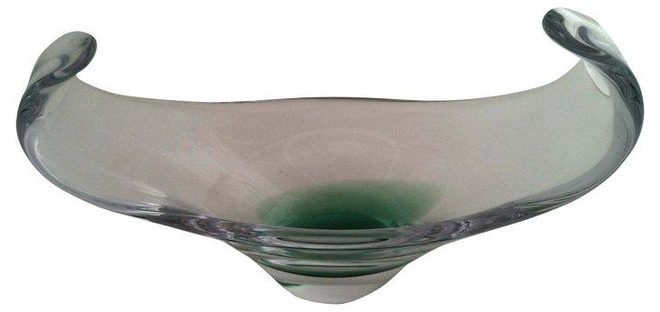 Large Midcentury Swedish Art Bowl