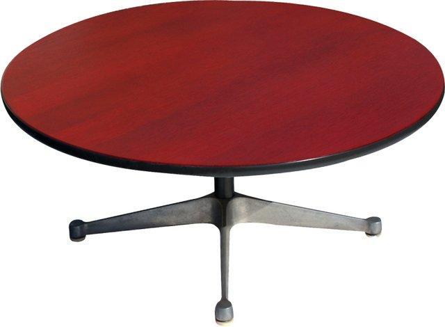 Red Herman Miller Coffee Table