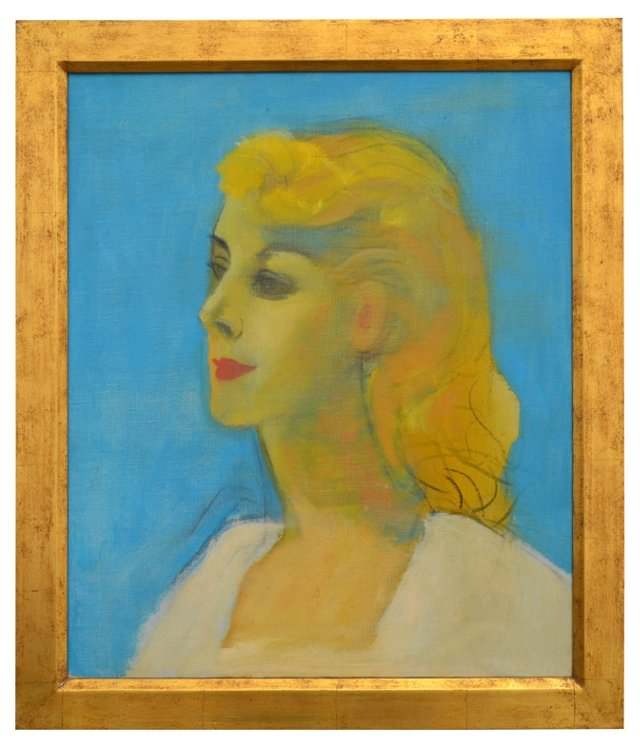 Portrait of Linda by Channing Peake