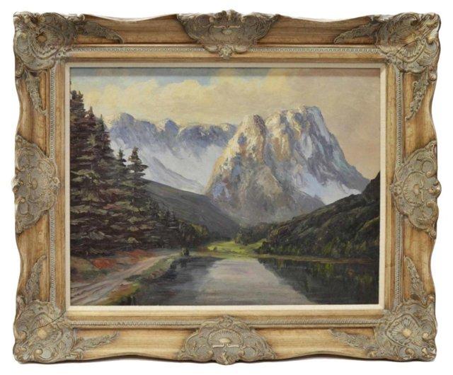 Mountains & Lake