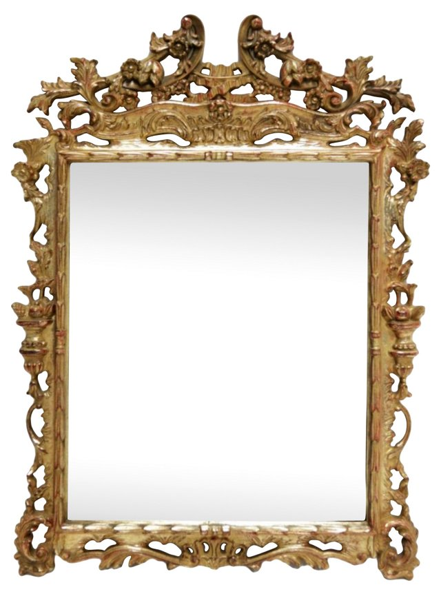 Gilded Wall Mirror