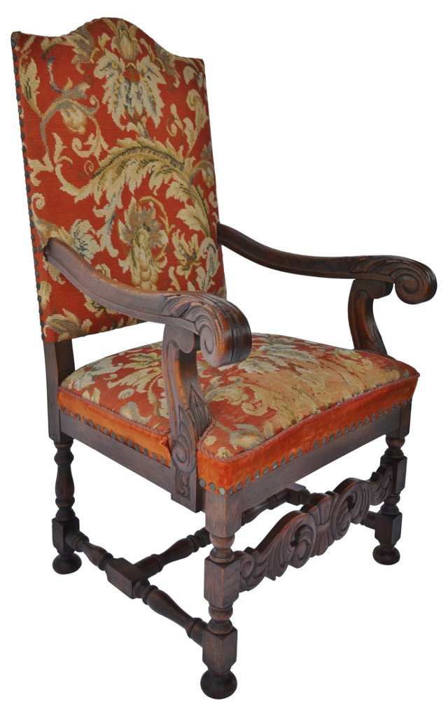 Louis XIV-Style  Armchair