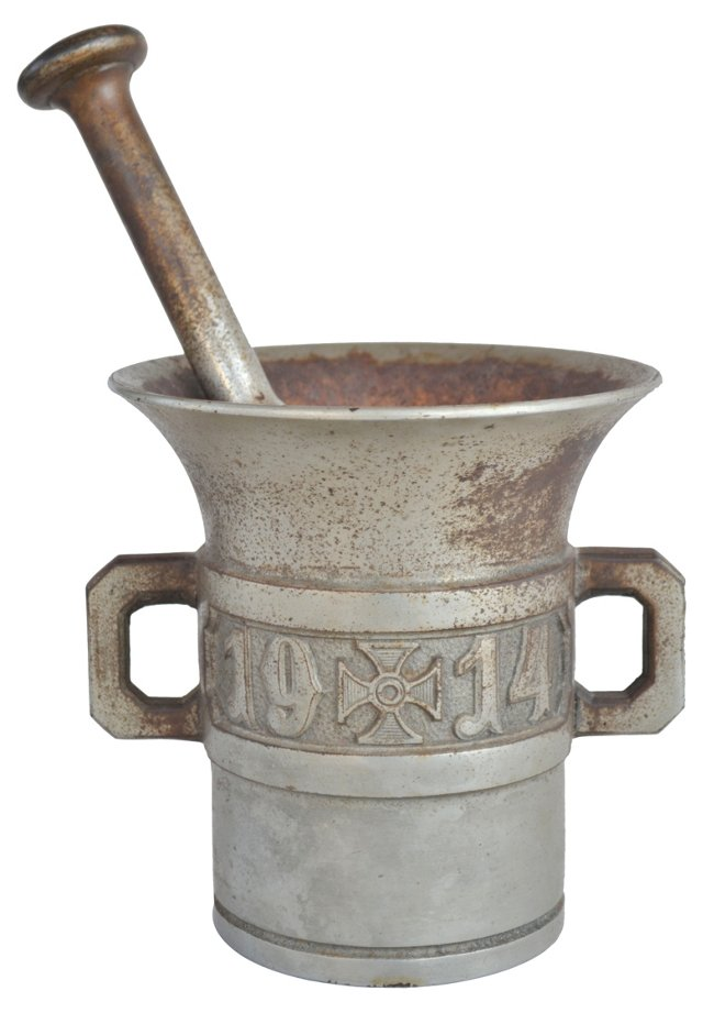 Iron Mortar & Pestle, 1914