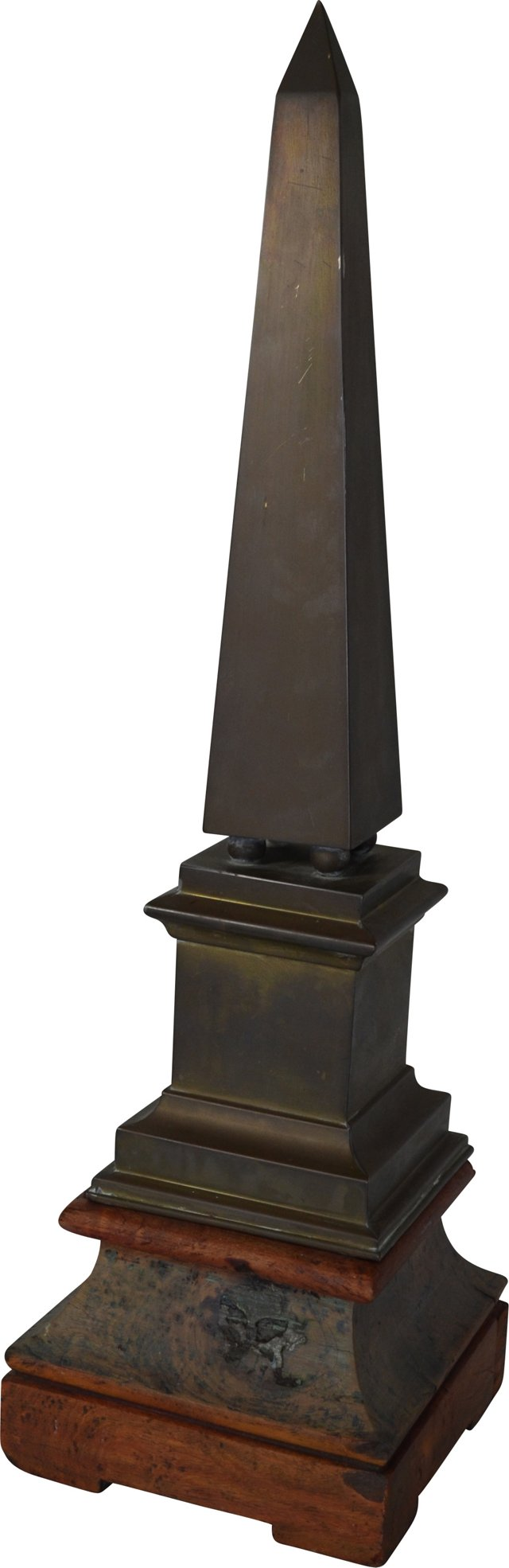 Brass Obelisk on Stand