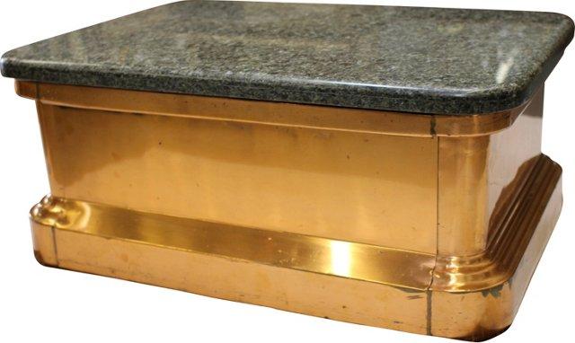 Copper & Granite Coffee Table