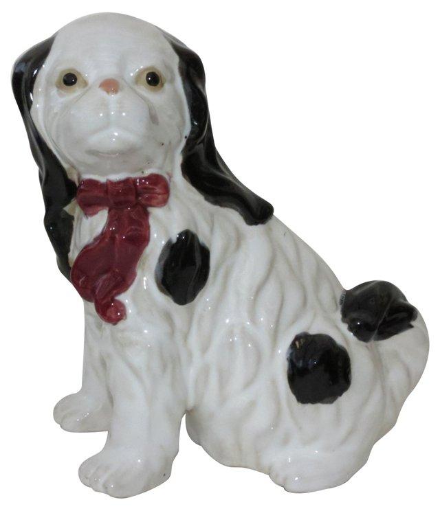Porcelain Spaniel Figurine