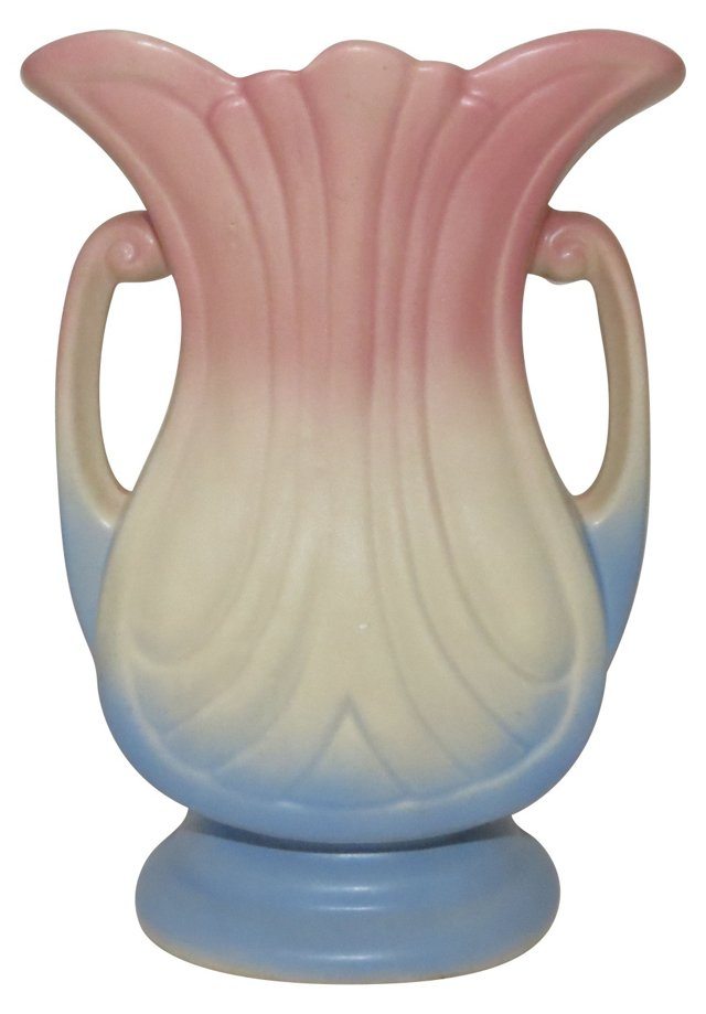 Hull Double-Handled   Vase