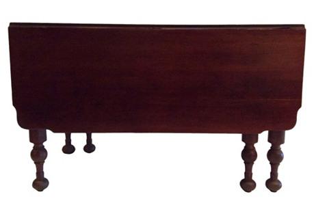 Drop-Leaf Gateleg Table