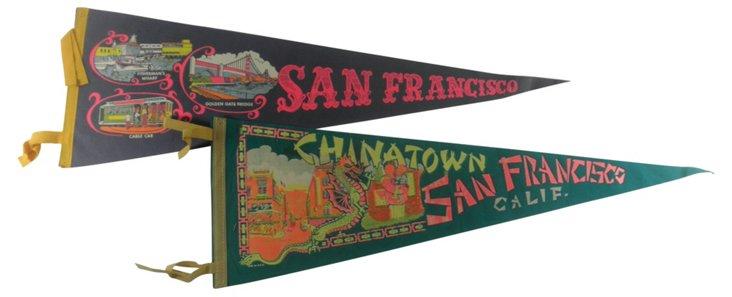 San Francisco Pennants, Pair