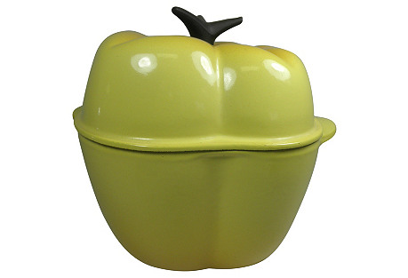 Le Creuset Yellow Pepper Dutch Oven