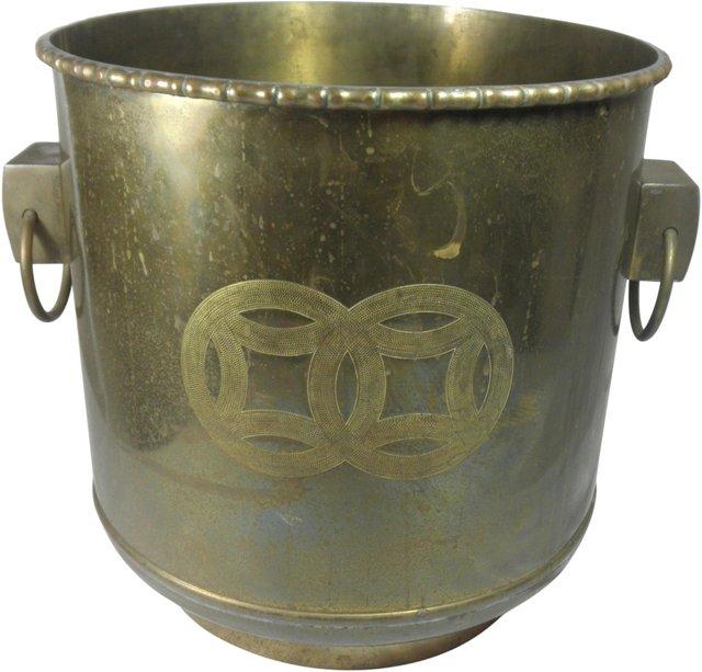 Brass Cachepot