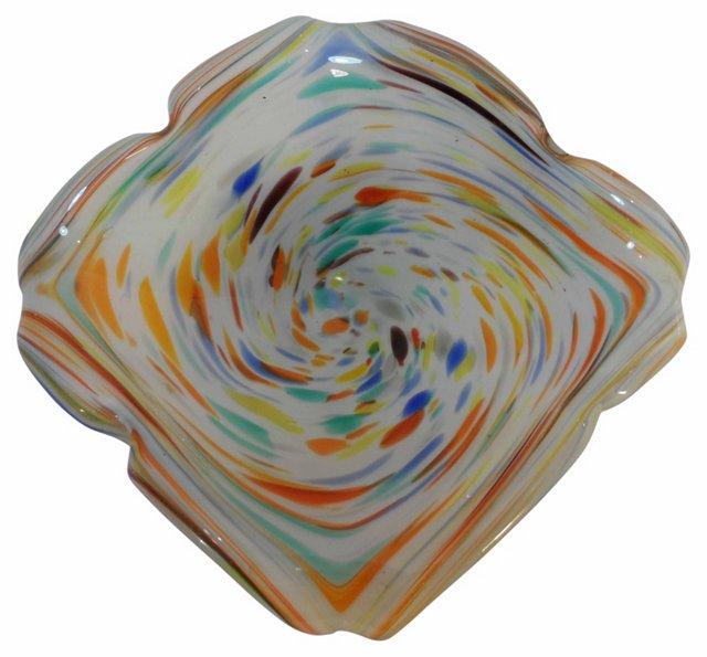Murano Rainbow  Bowl