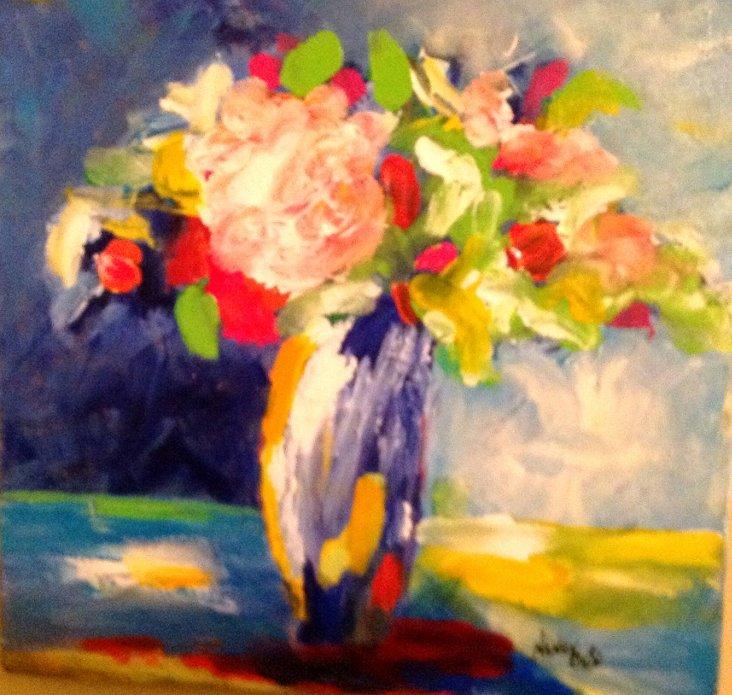 Bright Floral Still Life