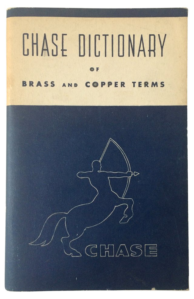 Dictionary of Brass and Copper Terms
